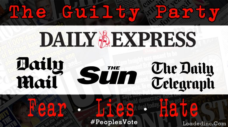 Brexit The Guilty Party