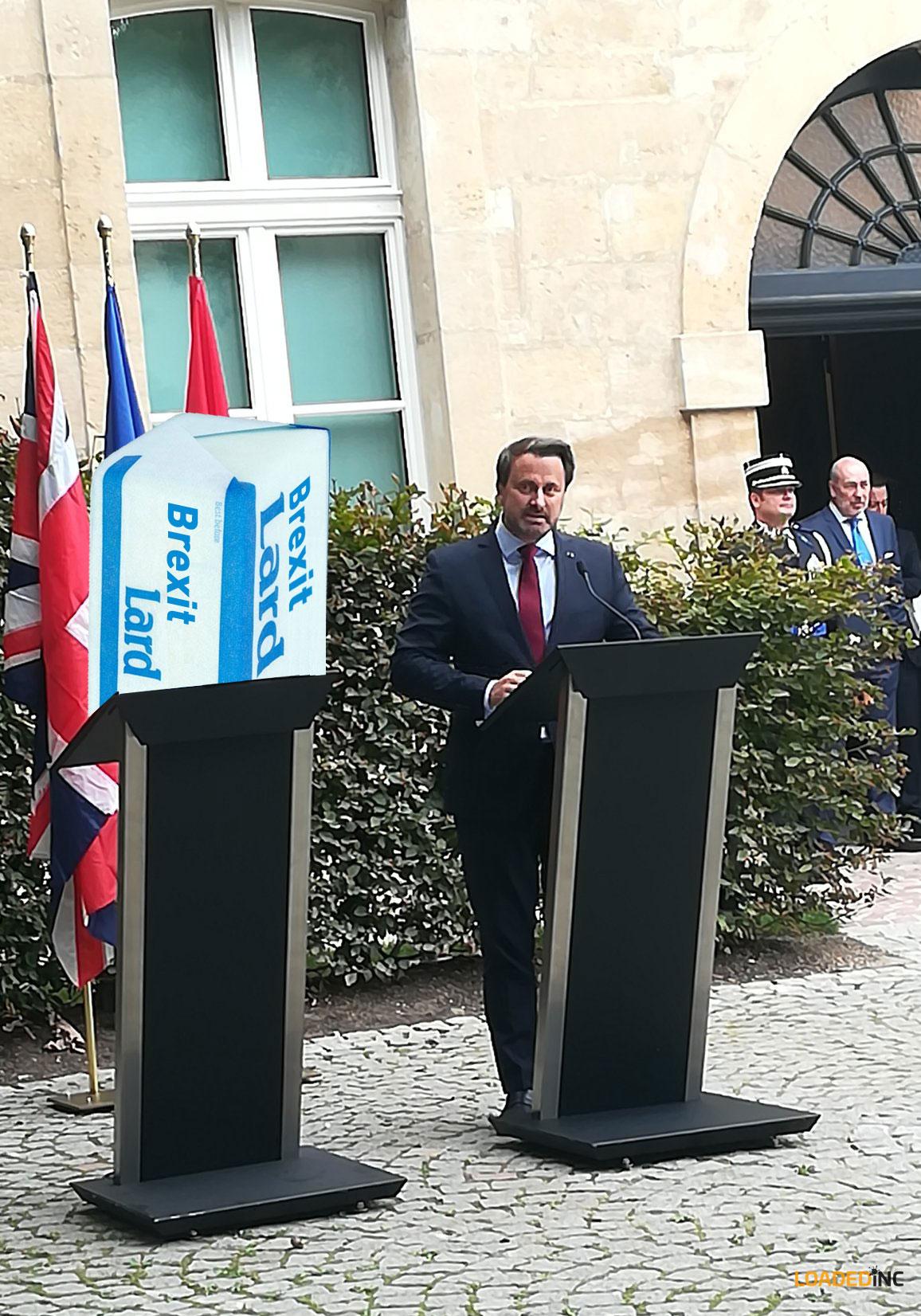 Johnson Luxembourg Brexit Lard